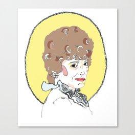 Blanche Canvas Print