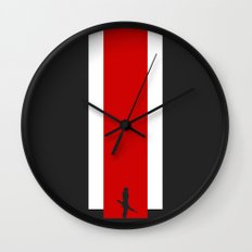 The Effect (FemShep - Clean) Wall Clock