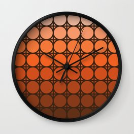 Desert Dusk Connections Wall Clock