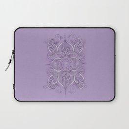 Mandala Ajna Chakra Laptop Sleeve