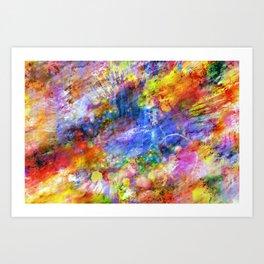 color flash Art Print