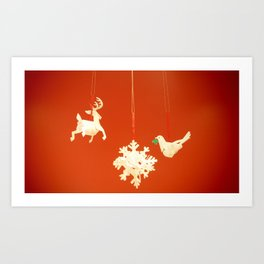 Wish you another wonderful new adventure in 2012:); Art Print