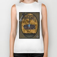 book cover Biker Tanks featuring Book Cover Illustration by Conceptualized