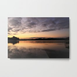 Rise up on the Lake Metal Print