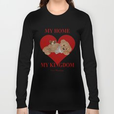 My Home, My Kingdom - Red Long Sleeve T-shirt