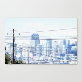 just take in the view Canvas Print