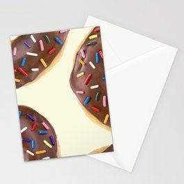 CHOCOLATE DONUTS Stationery Cards