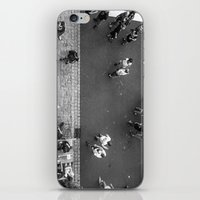 it crowd iPhone & iPod Skins featuring Crowd by Mauricio Santana