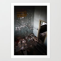 Buff Diss - Urban Places Art Print