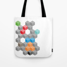Isometric confusion Tote Bag