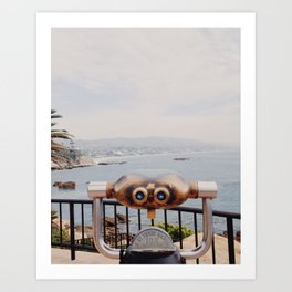 Laguna Beach, California Art Print