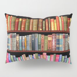 Vintage books ft Jane Austen & more Pillow Sham