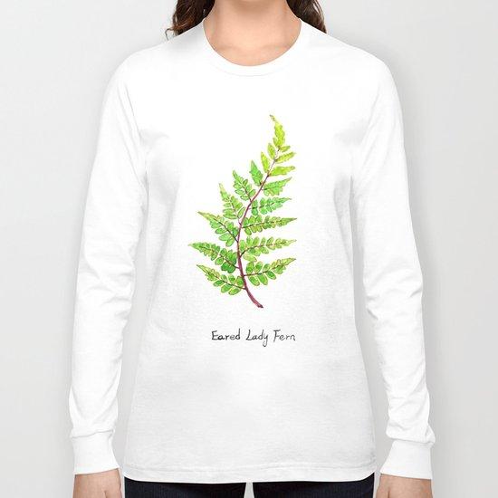 Eared Lady Fern Long Sleeve T-shirt