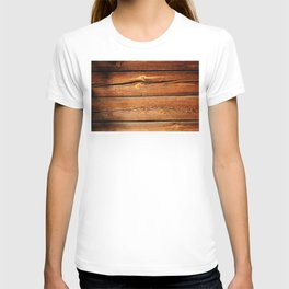 Rustic Wooden Planks  Wood Board Country Gifts T-shirt