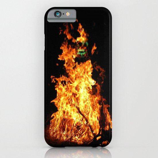 Fire demon iPhone & iPod Case