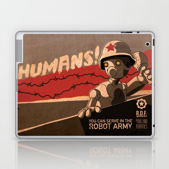 Propaganda Series 6 Laptop & iPad Skin