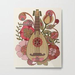 Ever Mandolin  Metal Print