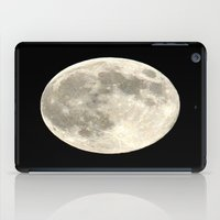 the moon iPad Cases featuring Moon by  Agostino Lo Coco