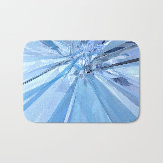 Blue Crystals Bath Mat