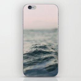 wavey iPhone Skin