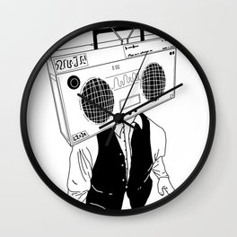 radio head Wall Clock