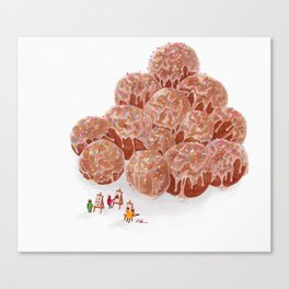Do-Nut Touch Museum: Funfetti Canvas Print