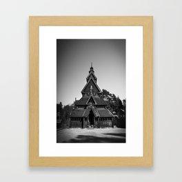 Gol Stavkirke II Framed Art Print