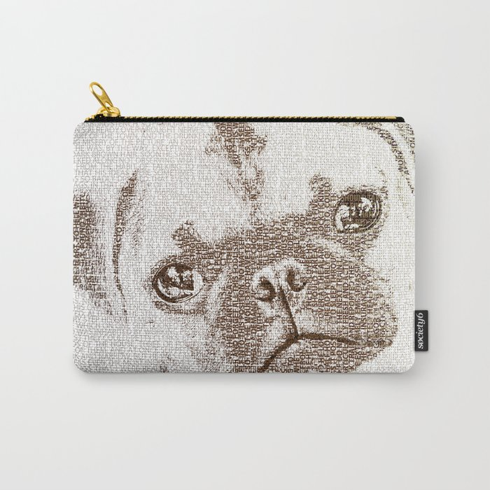 The Intellectual Pug Carry-All Pouch