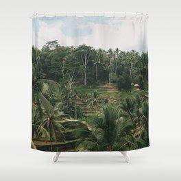 Bali Tegalalang Shower Curtain