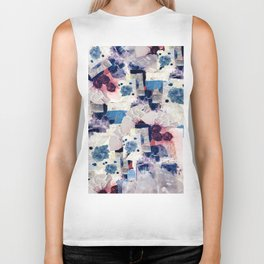 patchy collage Biker Tank