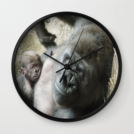 Mama's Pride & Joy Wall Clock