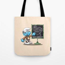 Attack on Titan Smurf Edition Tote Bag
