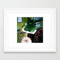 physics Framed Art Prints featuring Gleaning Physics by Borg de Nobel