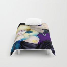 MoonMirror and CrescentCleft Comforters