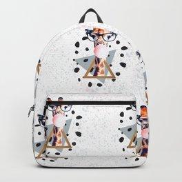 Pattern Girafee Backpack
