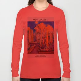 New College Palm Court Party Long Sleeve T-shirt