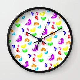 Converse | Chuck Taylor | Pattern | Rotated Wall Clock