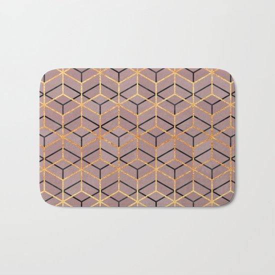 Pretty Geometry 1 Bath Mat