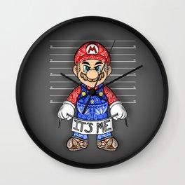 It's ME, Evil Mario !  Wall Clock