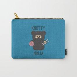 Knotty Knitting Ninja Carry-All Pouch