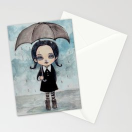A Walk in the Rain Stationery Cards