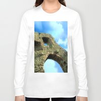 castle in the sky Long Sleeve T-shirts featuring Castle by Brian Raggatt