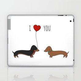 DACHSHUND LOVE Laptop & iPad Skin