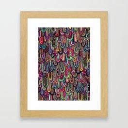 Drippy Drips Framed Art Print