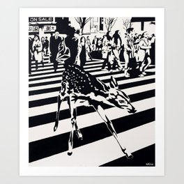 Asperger Syndrome Art Print