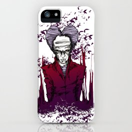 Dracula version 2 iPhone Case