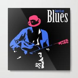 american blues Metal Print
