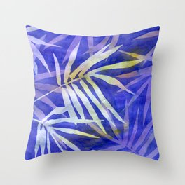 Bamboo Shades Throw Pillow