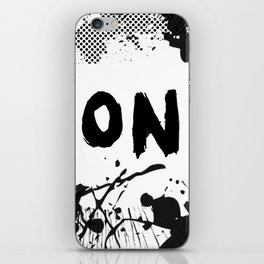 Don't (Ink Blast) iPhone Skin