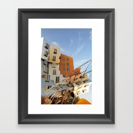 The Ray and Maria Stata Center Framed Art Print